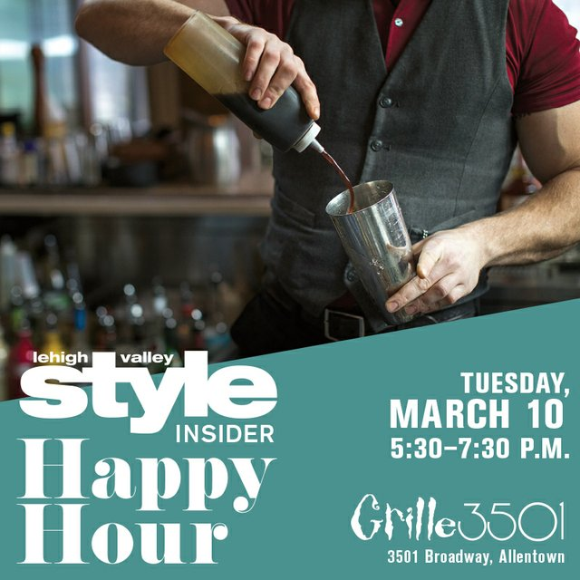 Happy Hour Grille 3501 March 10