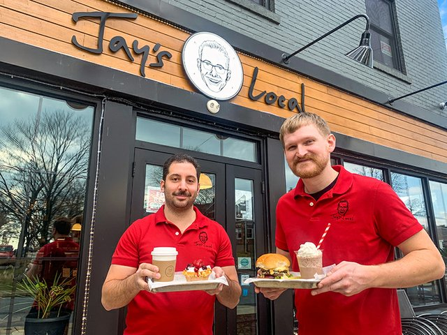 Lyell Scherline and Matthew Feehan of Jay's Local