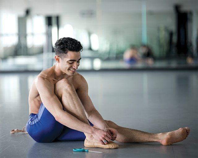Cainan Weber, Member of the New York City Ballet