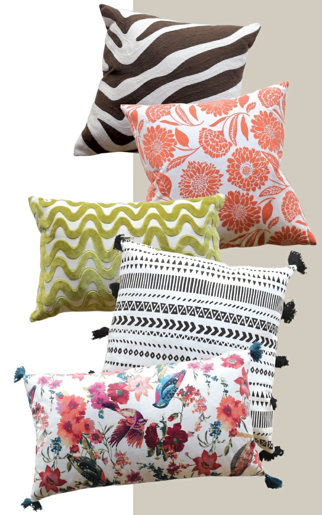 Spir Design Throw Pillows