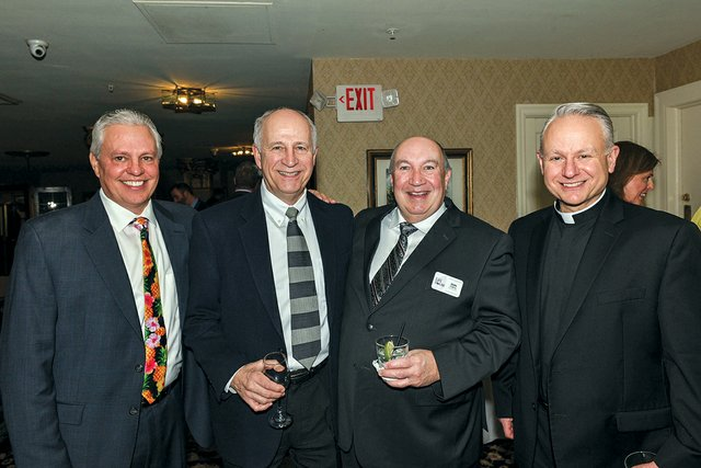 Mike Cudwadie, Mike Barski, Don Loughney and Father John Maria.jpg