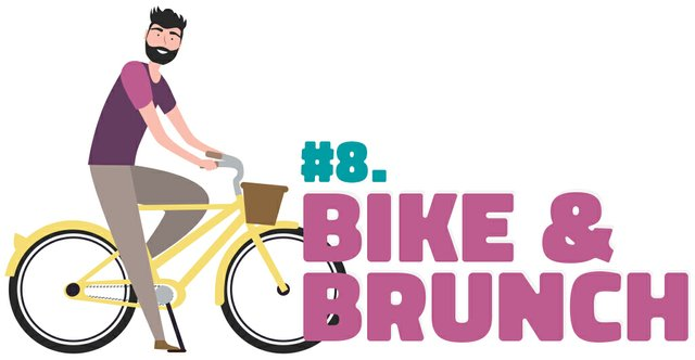 #8. Bike & brunch