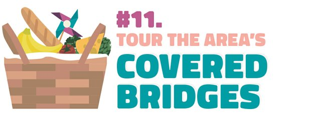 #11. Tour the area's covered bridges
