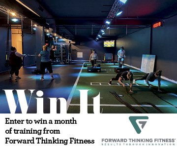 Enter to win a month of training from Forward Thinking Fitness